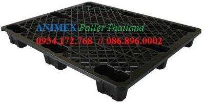 Pallet nhựa đen Dino NLT 1012 NR
