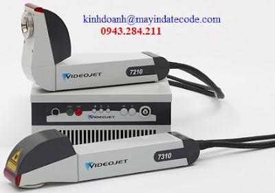 Máy in date laser Videojet 7210