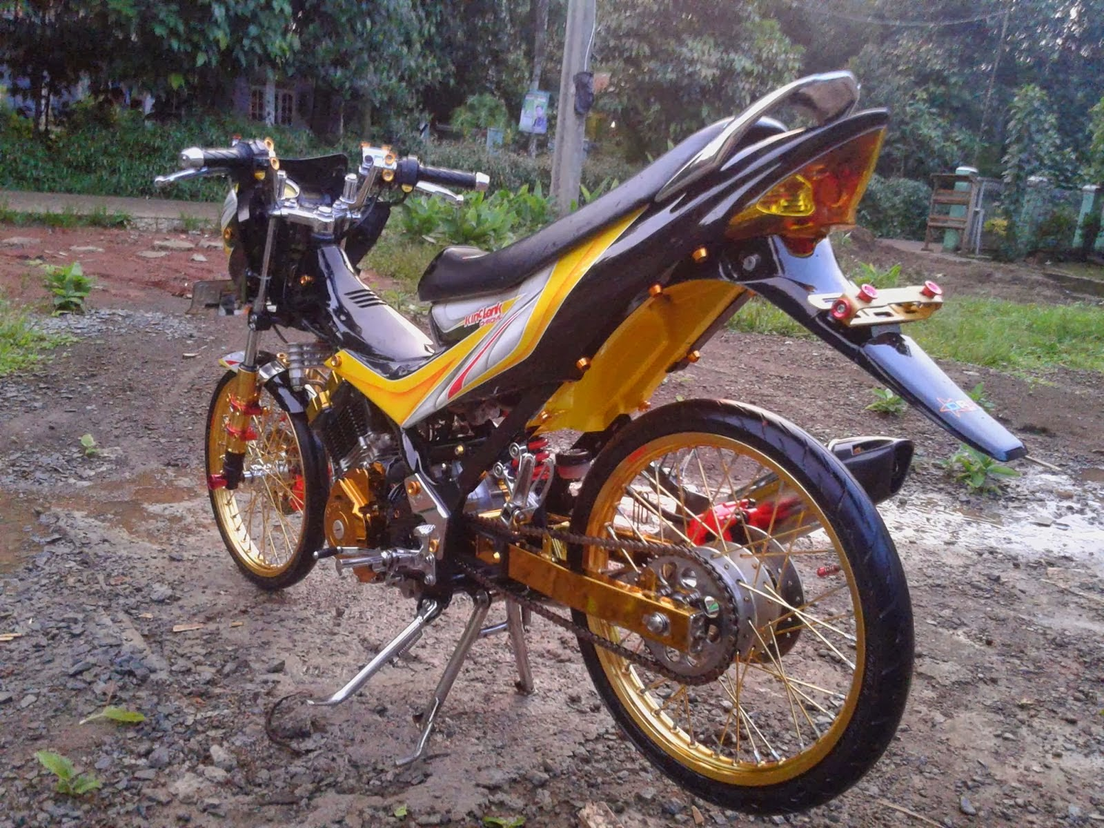 105 Modifikasi Honda Beat Fi Velg Jari Jari Modifikasi Motor Beat