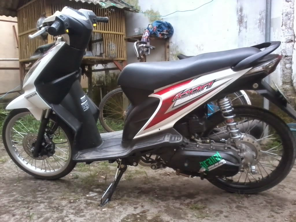 Modifikasi Vario 125 Jari2 Lampak Modifikasi