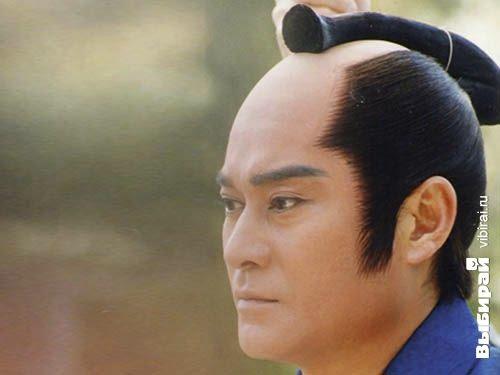 Самурай причёска