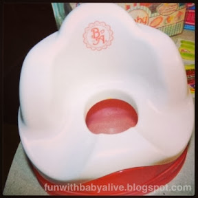 Fun With Baby Alive Baby Alive Potty Chair