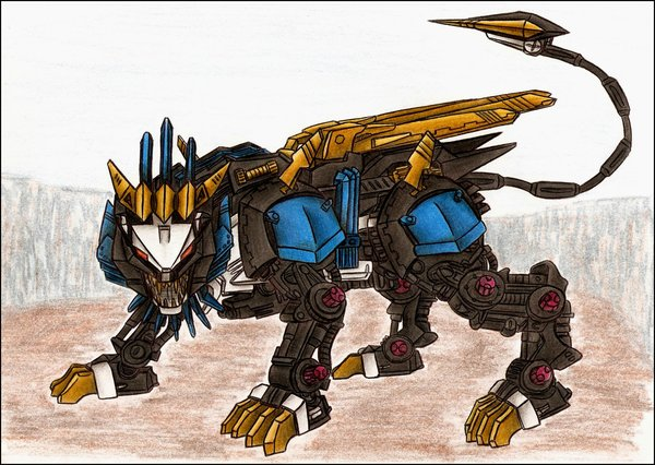 Realm of Darkness: Mec... Zoids Liger Forms