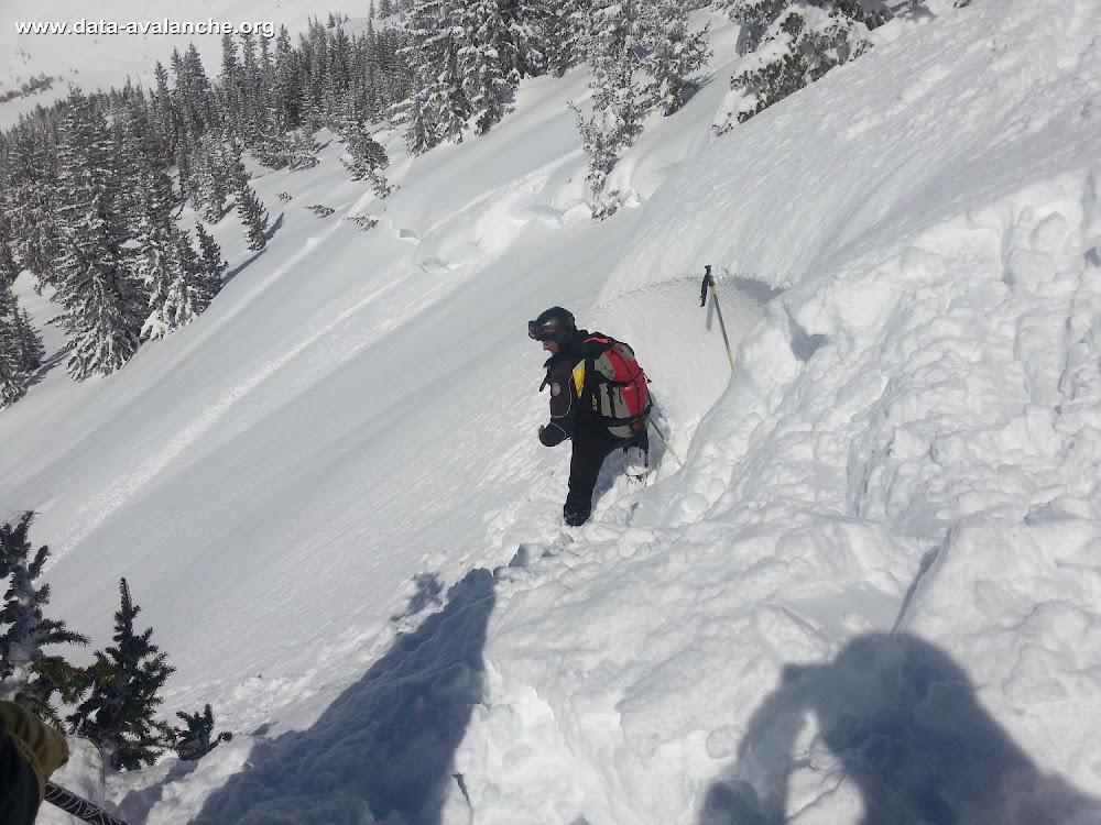 Avalanche Haute Tarentaise, secteur La Rosière - Photo 1