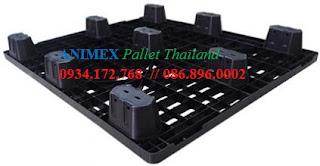 Pallet nhựa Oneway Thái Lan NLT 1012 LG