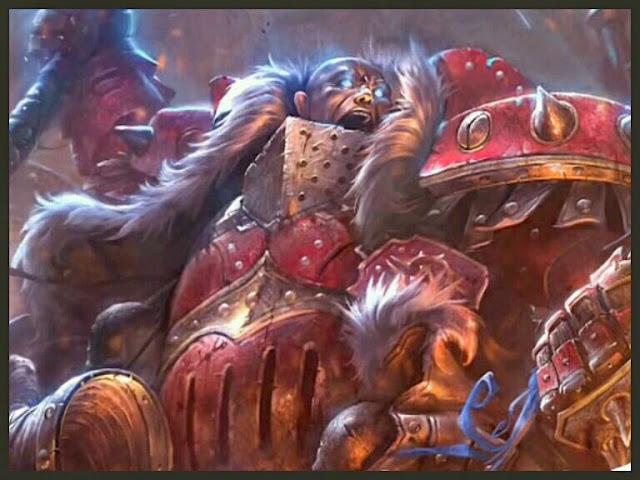Butcher Warcaster Ilustración