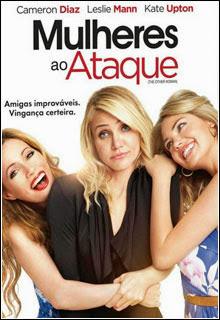 Mulheres ao Ataque DVD R Capa