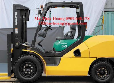 Xe nâng hàng 5 tấn Komatsu