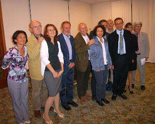 Gruppo degli organizzatori dell'incontro di sensibilizzazione pubblica VIVERE BENE E MORIRE BENE
