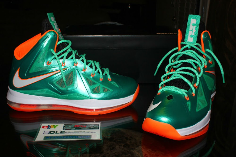 purchase cheap 1a57b ad8df lebron x miami dolphins for sale