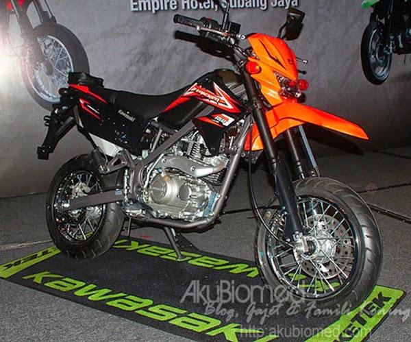 Kawasaki D-Tracker 150 oren