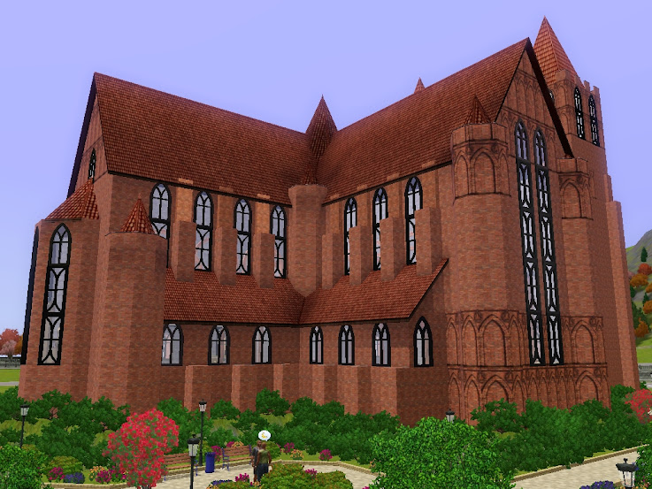 sims3 cathedral
