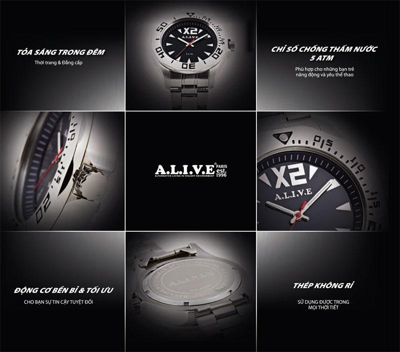 Đồng hồ nam thời trang Sophie Hiracles - GAL102