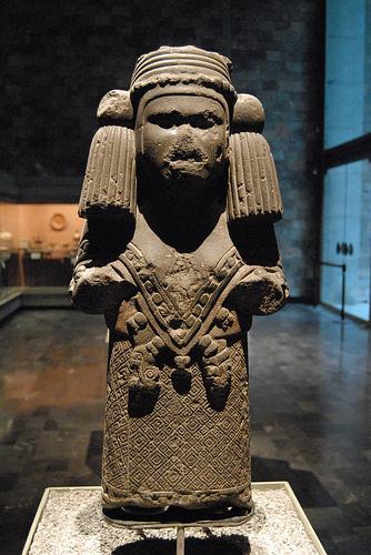 Goddess Chalchiuhtlicue Image