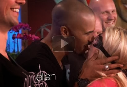 Shemar Moore Gets Hot and Heavy!