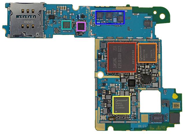 Nexus4 ロジックボード iFixit