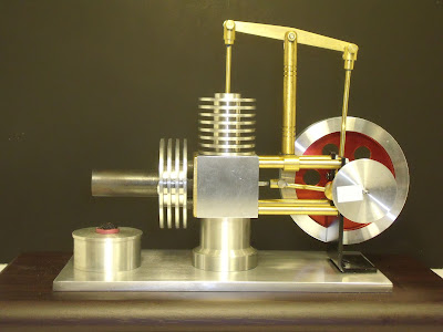 Grizzly H8102 Stirling Engine Machined Kit