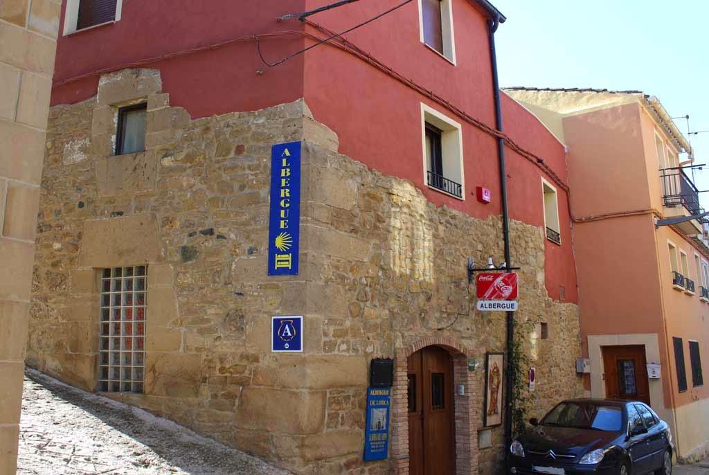 Albergue de peregrinos La Bodega del Camino, Lorca, Navarra, Camino de Santiago