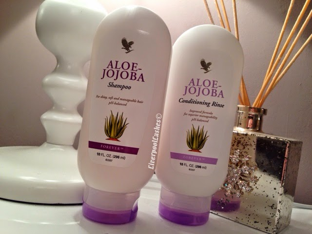 forever living aloe jojoba shampoo and conditioning rinse conditioner