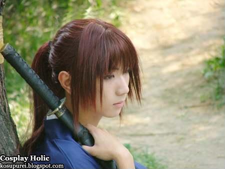 rurouni kenshin cosplay - hitokiri battousai