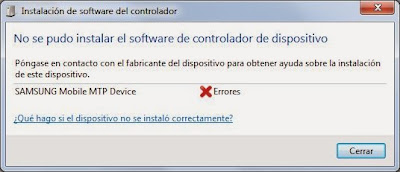 Instalar dispositivo cuando se produce error en la instalación automática Plug-and-Play PnP de Windows 7