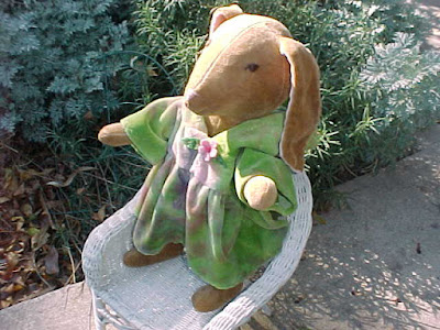 "16"" Button Jointed Rabbit - Sebastian or Liliana"