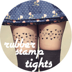 DIY Stamped tights