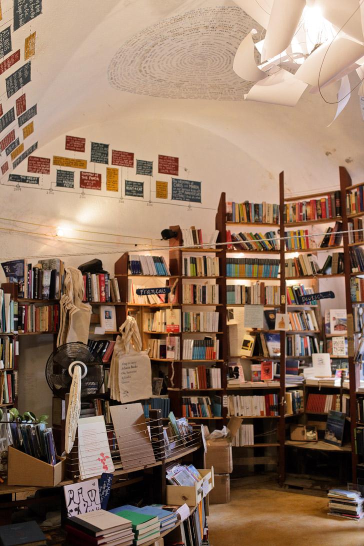 Atlantis Bookstore Santorini.