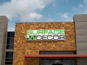 Surface Decor Channel Letters with Backplate and Wireway