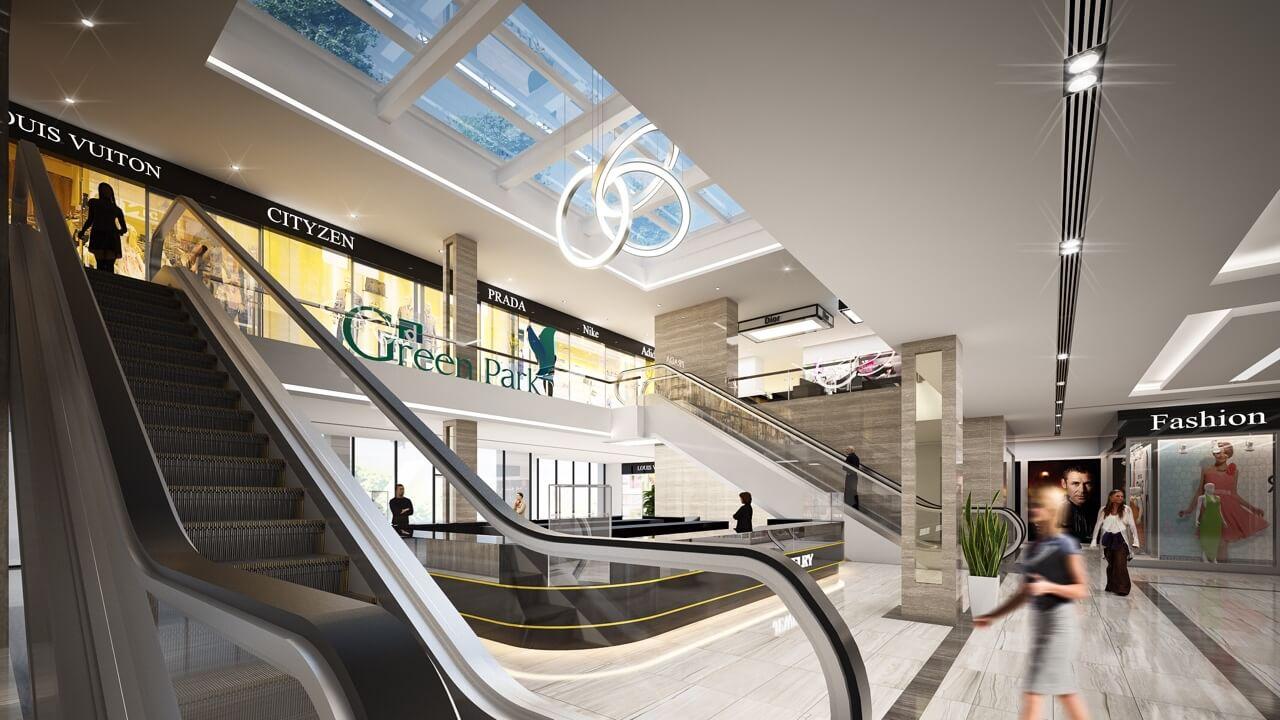 Khu mua sắm thương mại dự án Phương Đông Green Park