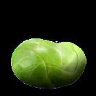 Una gelatina Tuttigusti + 1 al sapore di cavoletti di Bruxelles