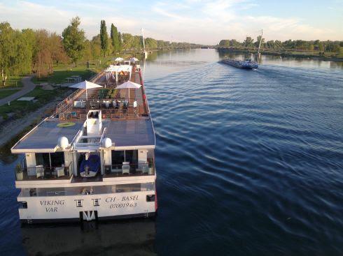 Blick auf den Rhein bei Kehl