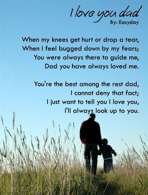 Poems About Father And Daughters 1