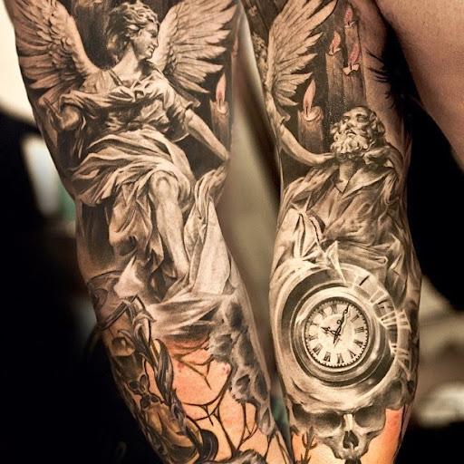 52 Awesome Angel Tattoo Ideas