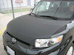 2010 Scion - Carbon Fibre hood and Racey stripe package