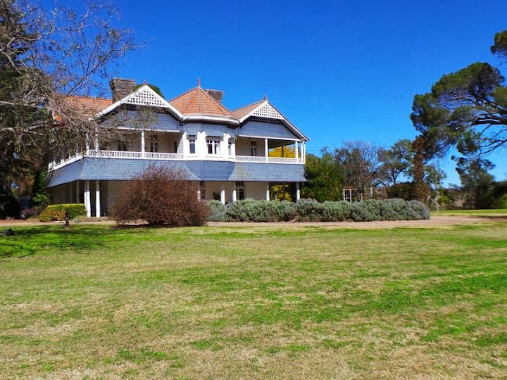 Glen Alpine, the 1886 homestead on 1335 hectares adjoining the Liverpool Plains at Werris Creek, remains listed for sale.