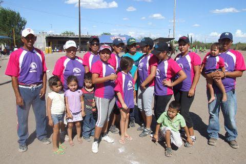 Chicas Sertoma del torneo de softbol del Club Sertoma