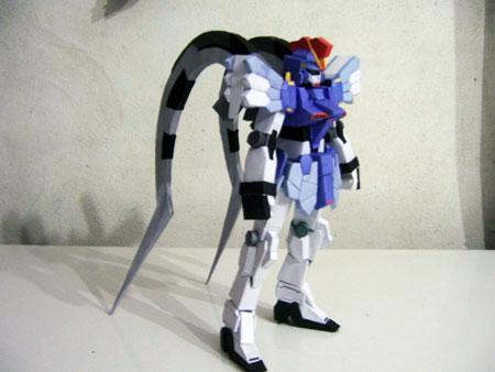 Sandrock Gundam Papercraft