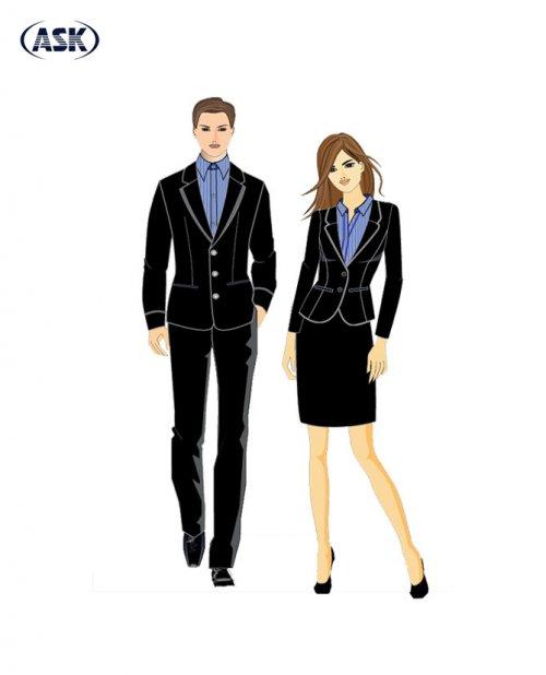 Trang phục Quản lý - Tiếp tân #1