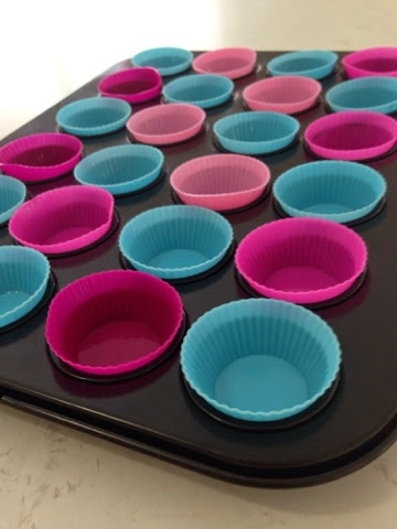 silicon moulds for mini cheesecakes