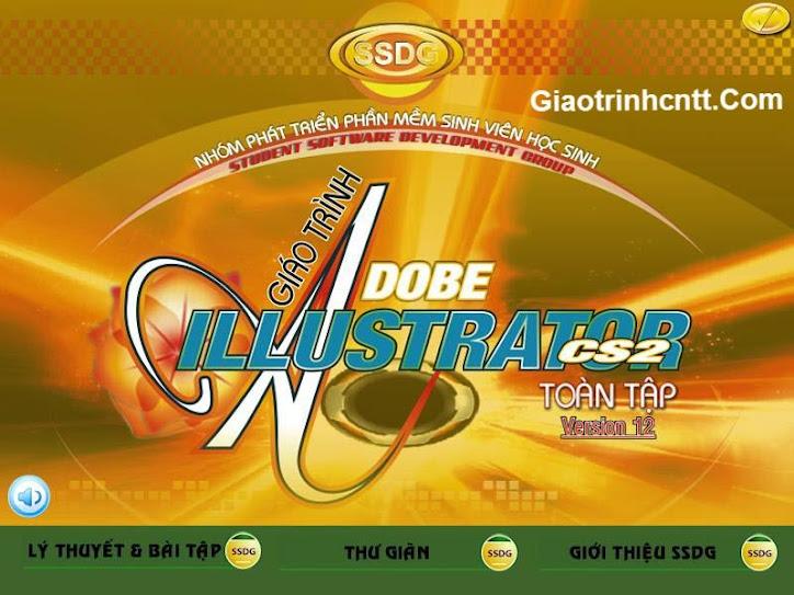 ssdg, Adobe Illustrator CS2, giáo trình Adobe Illustrator CS2, tài liệu đồ họa, giáo trình đồ họa