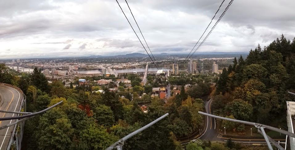 Aerial Tram Portland OR