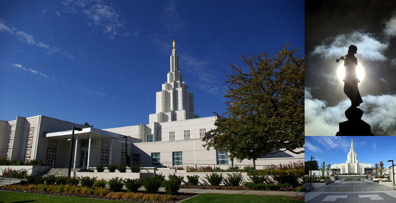 Idaho Falls Idaho Temple, October 11, 2012
