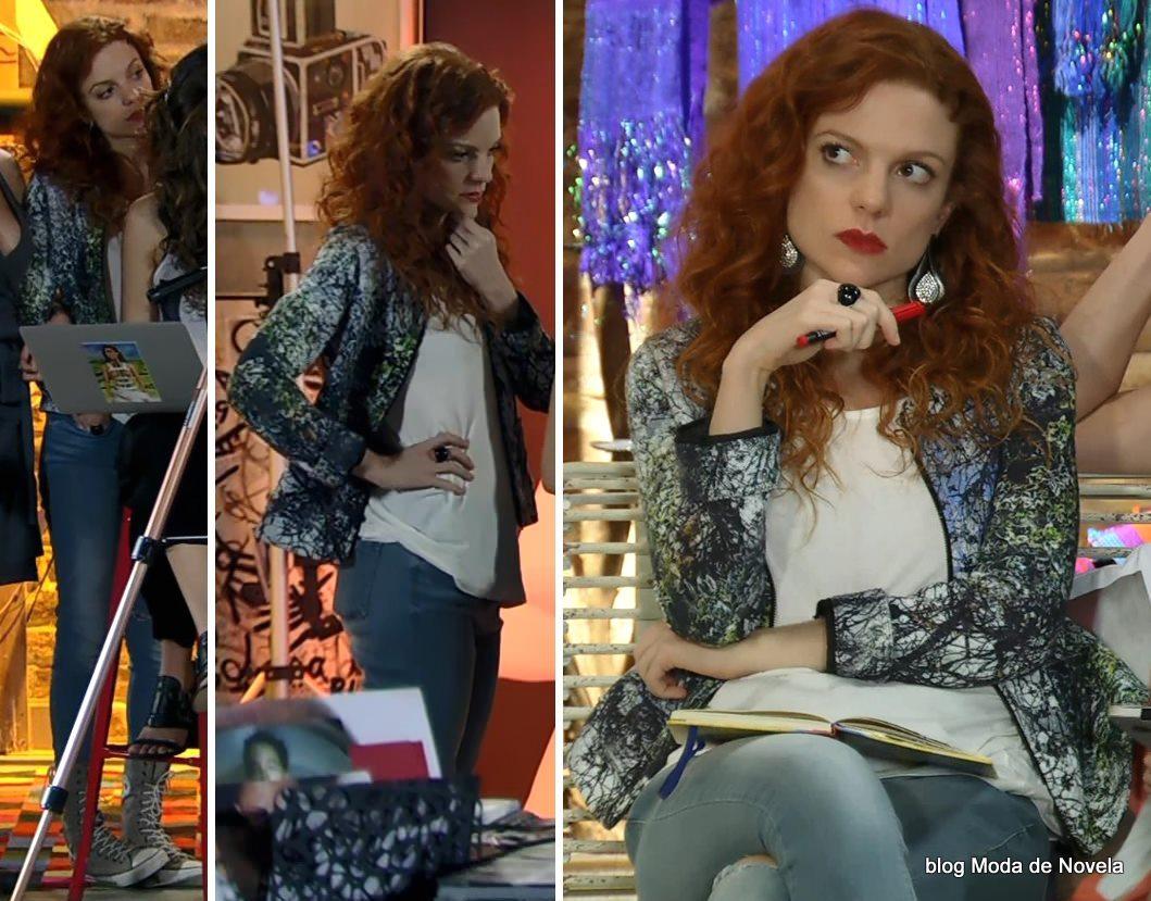 moda da novela Em Família - look da Vanessa no dia 19 de abril