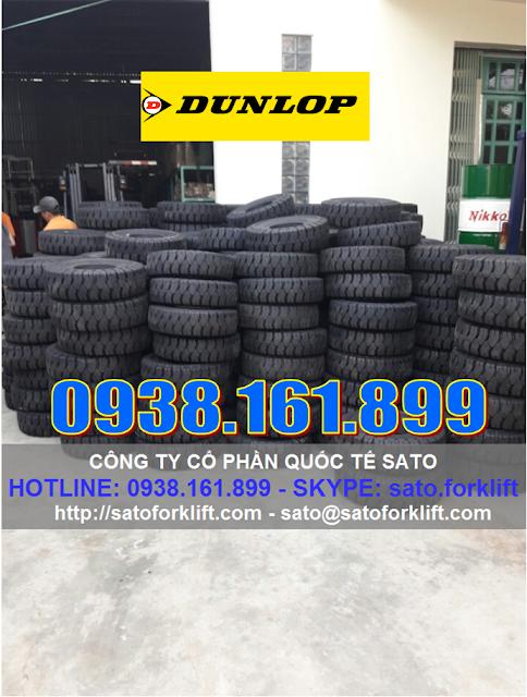 Vỏ xe nâng Dunlop