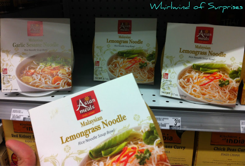 Asian Meals Malaysian Shitake Mushroom Noodle Bowl empties shelves