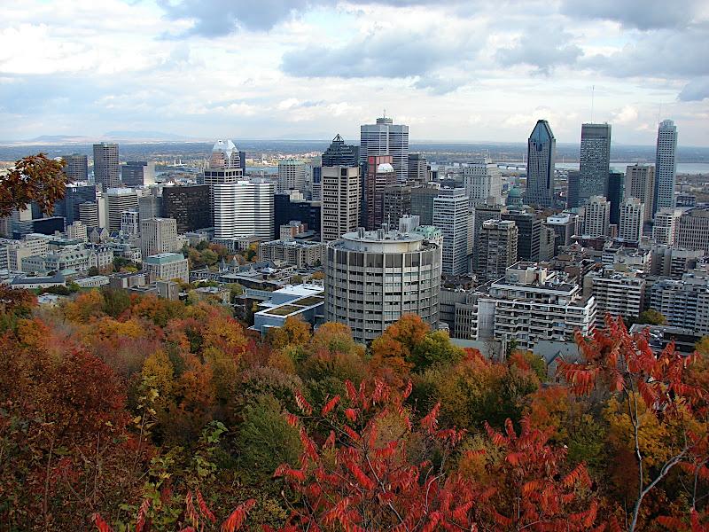 Montréal vanaf Mont Royal
