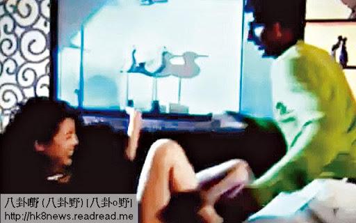 未同陳豪拍拖前,陳茵媺演出放好多,在《真相》中被姦,她又露長腿,又見逼爆巨胸,加埋有連串反應。