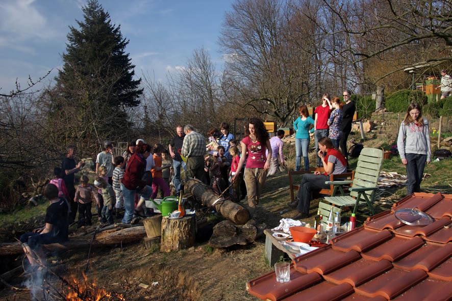 Foto NABU/Tino Westphal - Winterverbrennung mit den Wühlmäusen und ihren Freunden