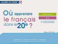 Où apprendre le français dans le 20e ?